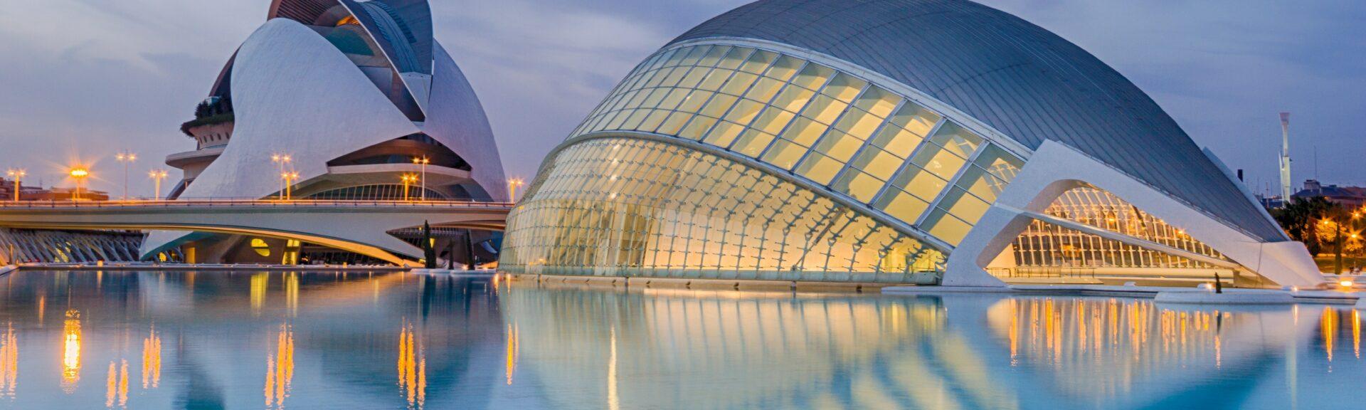 Vue architecturale de Valence
